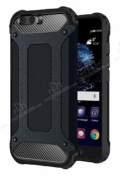 Dafoni Tough Power Huawei P10 Ultra Koruma Siyah Kılıf