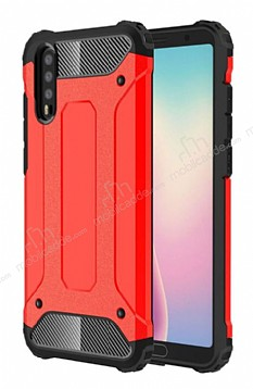 Tough Power Huawei P20 Ultra Koruma Kırmızı Kılıf