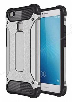 Dafoni Tough Power Huawei P9 Lite Mini Ultra Koruma Silver Kılıf