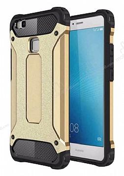 Tough Power Huawei P9 Lite Mini Ultra Koruma Gold Kılıf
