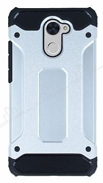 Tough Power Huawei Y7 Prime Ultra Koruma Silver Kılıf