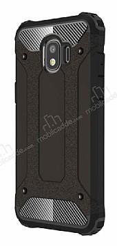Tough Power Samsung Grand Prime Pro J250F Ultra Koruma Siyah Kılıf