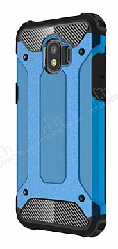 Tough Power Samsung Grand Prime Pro J250F Ultra Koruma Mavi Kılıf