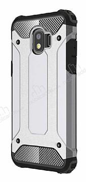 Tough Power Samsung Grand Prime Pro J250F Ultra Koruma Silver Kılıf