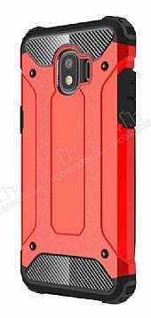 Tough Power Samsung Grand Prime Pro J250F Ultra Koruma Kırmızı Kılıf