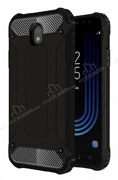 Dafoni Tough Power Samsung Galaxy J5 Pro 2017 Ultra Koruma Siyah Kılıf