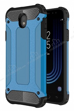 Dafoni Tough Power Samsung Galaxy J5 Pro 2017 Ultra Koruma Mavi Kılıf