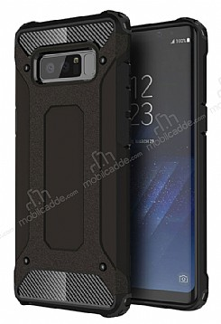 Dafoni Tough Power Samsung Galaxy Note 8 Ultra Koruma Siyah Kılıf