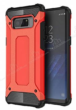 Dafoni Tough Power Samsung Galaxy Note 8 Ultra Koruma Kırmızı Kılıf