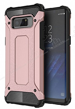Dafoni Tough Power Samsung Galaxy Note 8 Ultra Koruma Rose Gold Kılıf