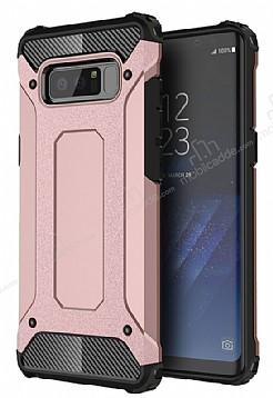 Dafoni Tough Power Samsung Galaxy Note 8 Ultra Koruma Rose Gold Kılıf