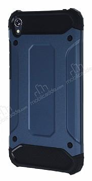 Dafoni Tough Power Asus Zenfone Live ZB501KL Ultra Koruma Lacivert Kılıf