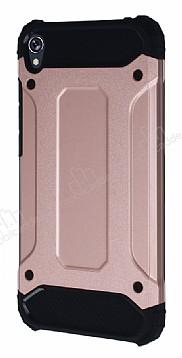 Dafoni Tough Power Asus Zenfone Live ZB501KL Ultra Koruma Rose Gold Kılıf