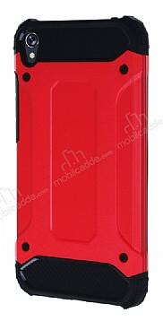 Dafoni Tough Power Asus Zenfone Live ZB501KL Ultra Koruma Kırmızı Kılıf