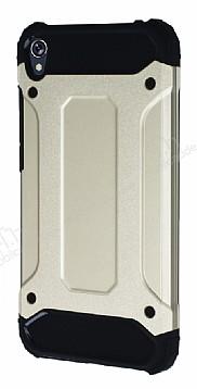 Dafoni Tough Power Asus Zenfone Live ZB501KL Ultra Koruma Gold Kılıf