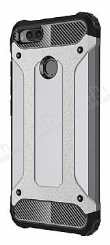 Dafoni Tough Power Xiaomi Mi 5X / Mi A1 Ultra Koruma Silver Kılıf
