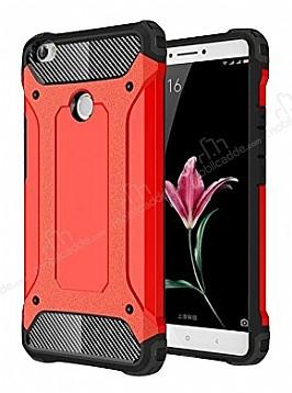 Dafoni Tough Power Xiaomi Mi Max 2 Ultra Koruma Kırmızı Kılıf