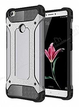 Dafoni Tough Power Xiaomi Mi Max 2 Ultra Koruma Silver Kılıf