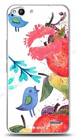 Vodafone Smart 6 Water Color Kiss Kılıf