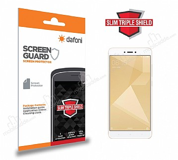 Dafoni Xiaomi Redmi 4X Slim Triple Shield Ekran Koruyucu