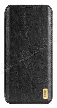 DCO Samsung Galaxy Note 8 Cüzdanlı İnce Yan Kapaklı Siyah Deri Kılıf