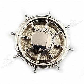 Dümen Metal Silver Yüzük Telefon Tutucu