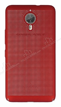 Eiroo Air To Dot General Mobile GM 5 Plus Delikli Kırmızı Rubber Kılıf