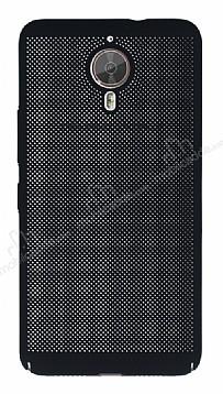 Eiroo Air To Dot General Mobile GM 5 Plus Delikli Siyah Rubber Kılıf