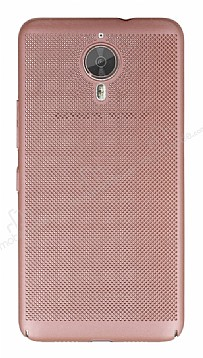Eiroo Air To Dot General Mobile GM 5 Plus Delikli Rose Gold Rubber Kılıf