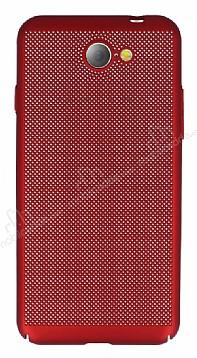 Eiroo Air To Dot General Mobile GM6 Delikli Kırmızı Rubber Kılıf