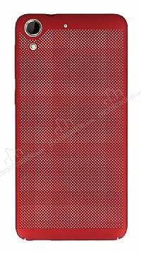 Eiroo Air To Dot HTC Desire 728G Delikli Kırmızı Rubber Kılıf