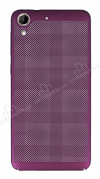 Eiroo Air To Dot HTC Desire 728G Delikli Mor Rubber Kılıf