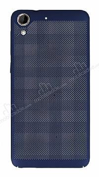 Eiroo Air To Dot HTC Desire 728G Delikli Lacivert Rubber Kılıf