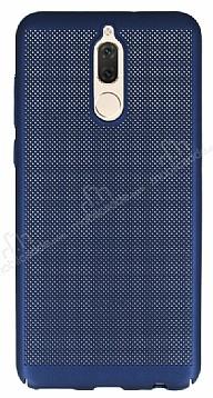 Eiroo Air To Dot Huawei Mate 10 Lite Delikli Lacivert Rubber Kılıf