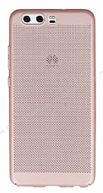 Eiroo Air To Dot Huawei P10 Delikli Rose Gold Rubber Kılıf