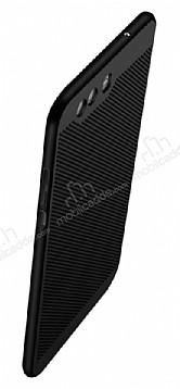 Eiroo Air To Dot Huawei P10 Plus Delikli Siyah Rubber Kılıf