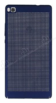 Eiroo Air To Dot Huawei P8 Delikli Lacivert Rubber Kılıf