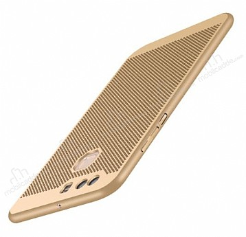 Eiroo Air To Dot Huawei P9 Delikli Gold Rubber Kılıf