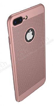 Eiroo Air To Dot iPhone 7 Plus Delikli Rose Gold Rubber Kılıf