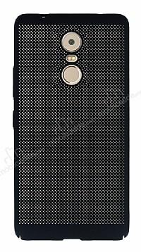 Eiroo Air To Dot Lenovo K6 Note Delikli Siyah Rubber Kılıf