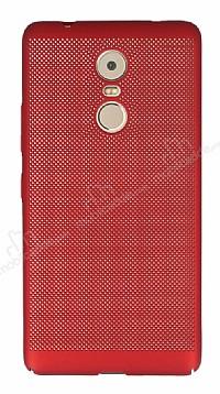 Eiroo Air To Dot Lenovo K6 Note Delikli Kırmızı Rubber Kılıf