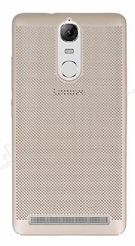 Eiroo Air To Dot Lenovo Vibe K5 Note Delikli Gold Rubber Kılıf
