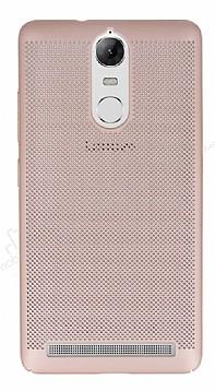 Eiroo Air To Dot Lenovo Vibe K5 Note Delikli Rose Gold Rubber Kılıf