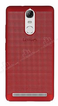 Eiroo Air To Dot Lenovo Vibe K5 Note Delikli Kırmızı Rubber Kılıf