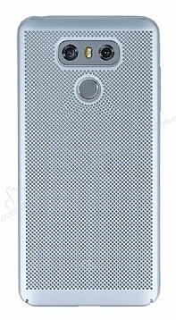 Eiroo Air To Dot LG G6 Delikli Silver Rubber Kılıf