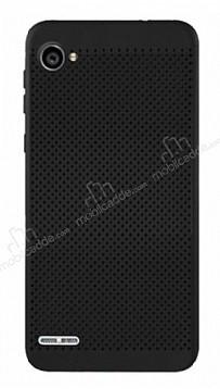 Eiroo Air To Dot LG Q6 Delikli Siyah Rubber Kılıf