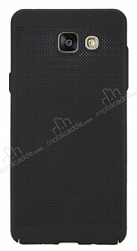 Eiroo Air To Dot Samsung Galaxy A7 2016 Delikli Siyah Rubber Kılıf