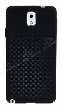 Eiroo Air To Dot Samsung Galaxy Note 3 Delikli Siyah Rubber Kılıf