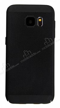 Eiroo Air To Dot Samsung Galaxy S7 Delikli Siyah Rubber Kılıf