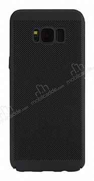 Eiroo Air To Dot Samsung Galaxy S8 Delikli Siyah Rubber Kılıf